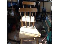 Kitchen chairs 4 £10