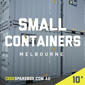 10FT SMALL SHIPPING CONTAINERS FOR SALE - NEW BUILDS - MELB Melbourne CBD Melbourne City Preview
