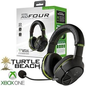 NEW TURTLE BEACH XO FOUR HEADSET Ear Force XO Four Stealth Gaming Headset for Xbox One ELECTRONICS VIDEO GAMES