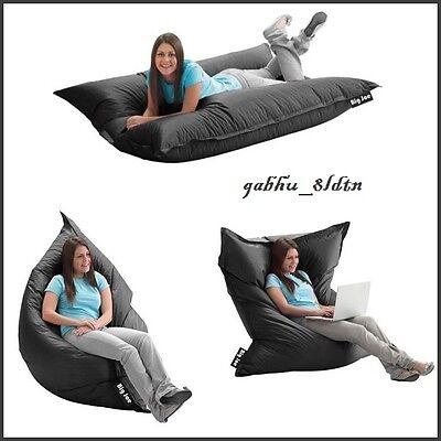 Lounger Bean Bag' Oversize Large Sofa Lounge Chair Seat Floo
