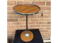 Vintage retro Metal side table plant stand
