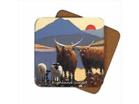 Unused Thomas Joseph Coasters - 6 Pack