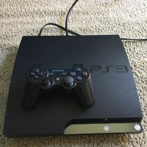 PS3 160GB Slim Console with One Controller