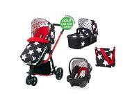 Cosatto giggle 4 n 1 travel system