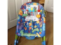 Fisher Price Baby Recliner and Toddler Rocking Chair