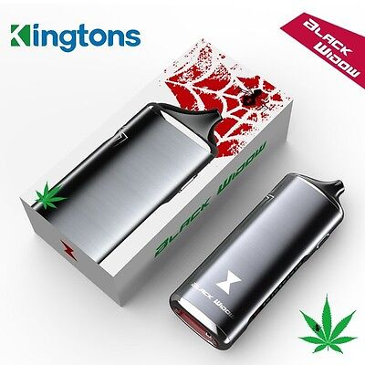 Nib Black Widow 3 In 1 Dry Vape By Kingtons In Black Color  Free Usa Shipping