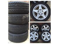 "16"" wheels Compomotive MO1670 pcd 5x120 BMW MG"