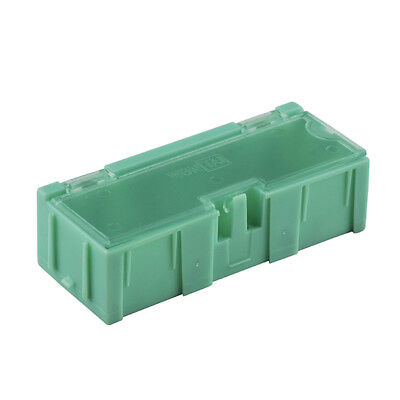 20pcs Smt Smd Kit Anti-static Laboratory Components Storage Boxes Green New Hot