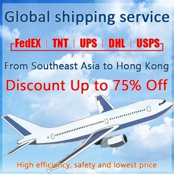 Discount FedEx/TNT/UPS Shipping label from SoutheastAsia toHongKong fastshipping