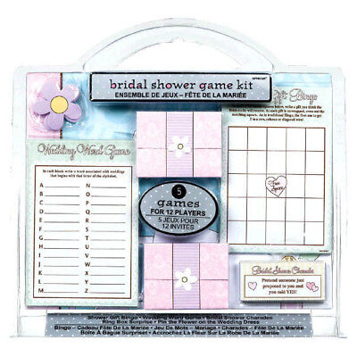 Bridal Shower Game Kit 5 Games for 12 Players  Fun Games Wedding Party Supply](Wedding Shower Game)