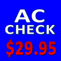 AIR CONDITIONING CHECK $29.95 AIR CONDITIONING RECHARGE $99.95