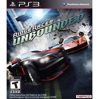 PS3 games - Ridge Racer Unbounded /  NHL 12 /  SSX