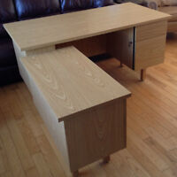 Office Desk with Return
