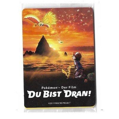 Du Bist Dran! - Pokemon Der Film OVP Booster - Deutsch - Pokemon Karten