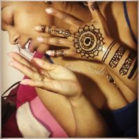 SERVICE HENNA et POSE D'ONGLE