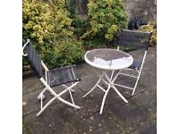 Garden seating for two