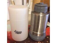 Tommee Tippee baby bottle warmer flask