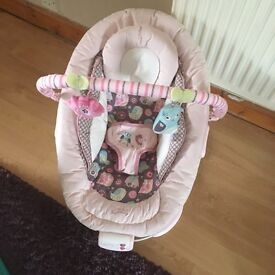 Baby vibrating seat (pink)