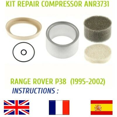 LAND ROVER RANGE ROVER P38 KIT REPAIR COMPRESSOR ANR3731 AIR SUSPENSION EAS for sale  Shipping to Ireland
