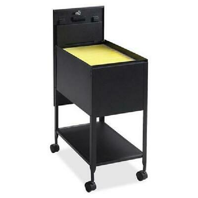 Cabinet Folder Metal Mobile Lateral Filling Rolling File Cart Drawer Organizer