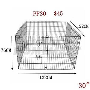 "30"" Exercise Enclosure PlayPen Dog Puppy Rabbit Cage Run Fence Derrimut Brimbank Area Preview"