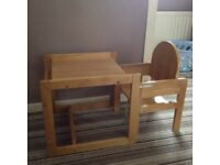 little kids table & chair