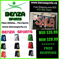 BENZA MMA SHORTS ON SALE STARTING AT $29.99 + FREE SHIPPING!!!!!