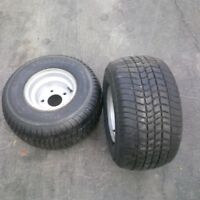 Triton trailer 8 inch tires and rims for sale