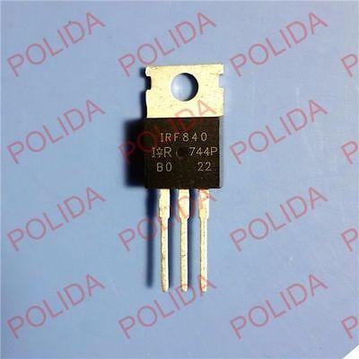 10pcs Mosfet Transistor Irvishay To-220 Irf840 Irf840pbf