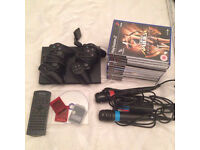 PlayStation 2 joblot PS2 console and games