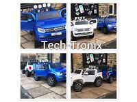 VW Amarok in Met Blue, Met Black, White, 2 Seater, Leather Seats