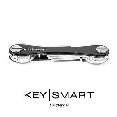 KeySmart 2.0. Swiss Army Style Key Organiser. Black. 2-8 Keys. Add Accessories.
