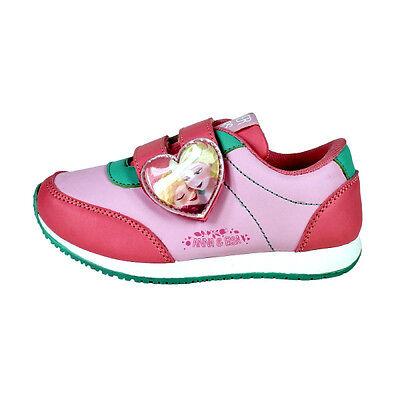 Sportschuhe Kinderschuhe Schuhe Gr. 26 27 28 Anna & Elsa Disney Frozen Pink Neu
