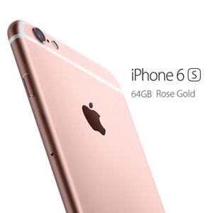 MINT IPHONE 6S 64GB ROSE GOLD UNLOCKED 3MONTHS WARRANTY $349.99