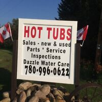 Hot Tub Repair and water treatment sales