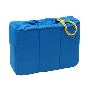 HORUSBENNU-HD-321022-Blue-Camera-Lens-Insert-Partition-Padded-Bag-Case