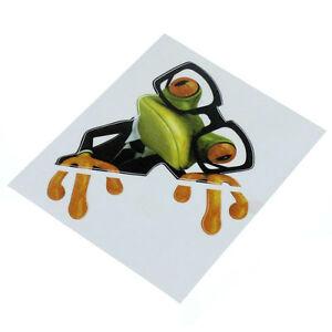 autocollant grenouille lunettes sticker vitre voiture frigo neuf ebay. Black Bedroom Furniture Sets. Home Design Ideas