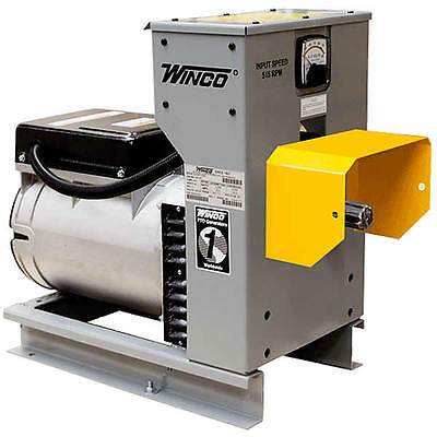 Winco W15ptos - 15 Kw Tractor-driven Pto Generator 515540 Rpm