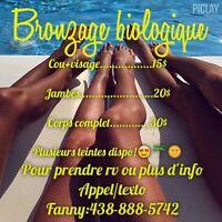 Bronzage biologique /spray tan