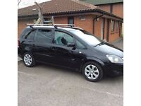 Vauxhall Zafira 2 2008 seven seater diesel parted a van