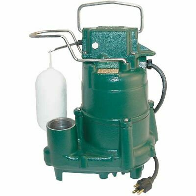 Zoeller M98 - 12 Hp Cast Iron Submersible Sump Pump W Vertical Float Switch