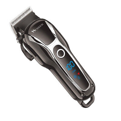 Professional Electric Hair Trimmer Clipper Shaver Barber Haircut Machine LED