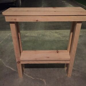 Rustic handmade table