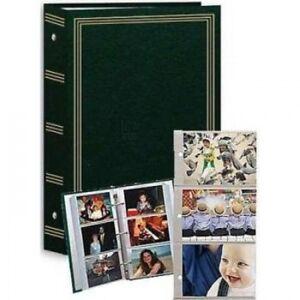 3-ring pocket HUNTER-GREEN album for 504 photos - 4