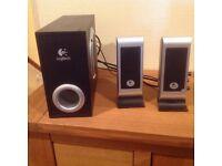 Logitech Dual speakers