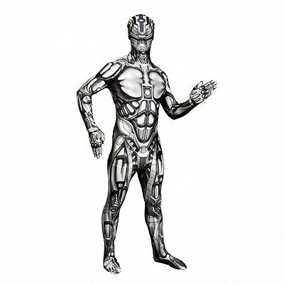 Kids to Adult Android Morphsuit Monster Robot Costume Cosplay - Android Roboter Kostüm