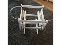 Baby rocker for Moses basket like bran new