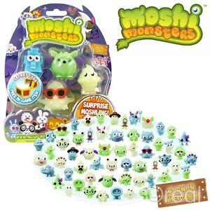 New Moshi Monsters Glow In The Dark Halloween Season 1 5 Figure Pack Official