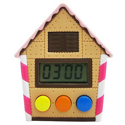 Candy House Cute Electronic Bird Kitchen Tool Gadget Clock Timer (Cookies)
