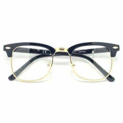 Classic Vintage Retro Fashionable Mens Womens Malcolm X Style Clear Lens (Malcolm X Glasses)